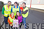 READY TO RUN: Preparing for the inaurgral Currow 5K Fun Run taking place on March 3rd at 2pm from front l-rwere: Kerrie Lynch and Catriona McGuire. Back l-r were: Noel McGuire, Louise Finnegan, Ger McGuire and Jean McGuire.