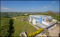 BNPS.co.uk (01202 558833)<br /> Pic: WilkinsonGrant&amp;Co/BNPS<br /> <br /> A former 200,000-gallon reservoir that has been converted into a luxurious five-bedroom home is on the market for &pound;700,000.<br /> <br /> John Bollard and his partner Anne-Marie Tremaine bought the old reservoir, which sits on a hill on the outskirts of Kingskerswell village in Devon, in 2002 after seeing an advert for the derelict site.<br /> <br /> The original Victorian reservoir was made up of a series of underground tanks and when the couple first saw the site all that was visible at ground level was four inspection hatches surrounded by steel railings.<br /> <br /> They bought it for &pound;74,000 and spent a year and about &pound;300,000 transforming it into the perfect home.