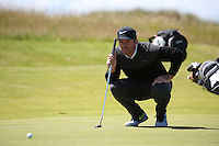 Paul Casey (ENG) during Round One of the 145th Open Championship, played at Royal Troon Golf Club, Troon, Scotland. 14/07/2016. Picture: David Lloyd | Golffile.<br /> <br /> All photos usage must carry mandatory copyright credit (&copy; Golffile | David Lloyd)
