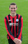 Scott Stevenson, St Johnstone FC...Season 2014-2015<br /> Picture by Graeme Hart.<br /> Copyright Perthshire Picture Agency<br /> Tel: 01738 623350  Mobile: 07990 594431