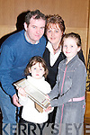 HANDBALL: What a great night for the O'Donoghue family from Ballymacelligott, Danielle, Micaela, Michael and Catherine, as they received their certificate at the Handball Awards night at Ballyroe Heights Hotel, Tralee on Friday..