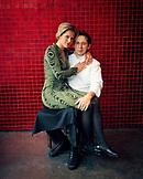 AUSTRIA, Vienna, Stadtpark, portrait of Chef Heinz Reitbauer and his wife Birgit Reitbauer in their restaurant Steirereck