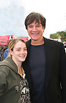 Frank Dicopoulos & Beth Thompson - Guiding Light's actors meet fans at Stacy Jo's Ice Cream in McKees Rocks, PA on September 30, 2009. During the weekend of events proceeds from pink ribbon bagel sales at various Panera Bread locations will benefit the Young Women's Breast Cancer Awareness Foundation. (Photo by Sue Coflin/Max Photos)