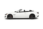 Car Driver side profile view of a 2014 Maserati GranTurismo Convertible Sport Door convertible Side View