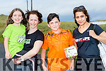 l-r  Erin McLoughlin, Ann Scanlon, Oisin Karakus and Anjam Haling at the BANNA Beast Cross Fit Challenge on Saturday