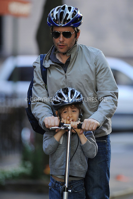 WWW.ACEPIXS.COM . . . . . ....May 7 2010, New York City....Actor Matthew Broderick takes his son James to school in the West Village on May 7 2010 in New York City....Please byline: KRISTIN CALLAHAN - ACEPIXS.COM.. . . . . . ..Ace Pictures, Inc:  ..tel: (212) 243 8787 or (646) 769 0430..e-mail: info@acepixs.com..web: http://www.acepixs.com