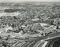 UNDATED..Historical..Tidewater Gardens (6-2 & 6-9)..Aerial view looking North before demolition..PHOTO CRAFTSMEN INC..NEG# 18-489.NRHA# 677..