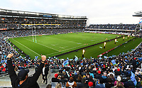 14th June 2020, Aukland, New Zealand;  General view of the many fans at the Investec Super Rugby Aotearoa match, between the Blues and Hurricanes held at Eden Park, Auckland, New Zealand.
