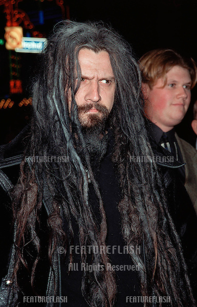 "16NOV99: Actor ROB ZOMBIE at the world premiere of ""End of Days"" which stars Arnold Schwarzenegger..© Paul Smith / Featureflash"
