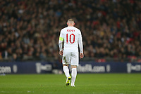 LONDON, ENGLAND - NOVEMBER 15: England's Wayne Rooney during the International Friendly match between England and United States at Wembley Stadium on November 15, 2018 in London, United Kingdom. (Photo by Rob Newell - CameraSport via Getty Images)