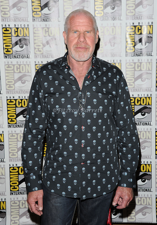 Ron Pearlman arriving at the The Book Of Life Panel at Comic-Con 2014  at the Hilton Bayfront Hotel in San Diego, Ca. July 25, 2014.