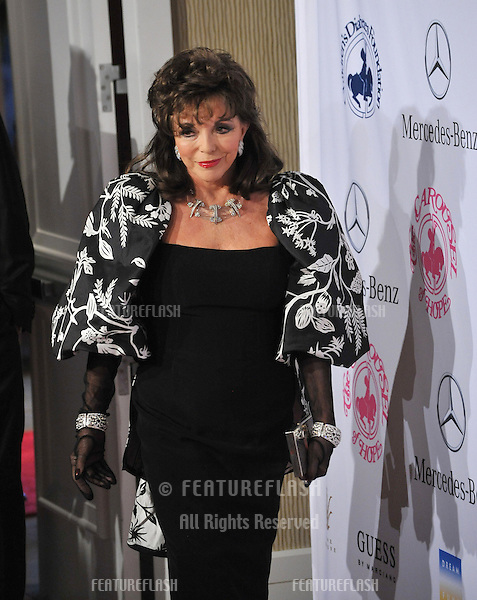 Joan Collins at the 26th Carousel of Hope Gala at the Beverly Hilton Hotel..October 20, 2012  Beverly Hills, CA.Picture: Paul Smith / Featureflash