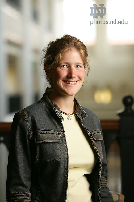 E. Brennan Bollman, a biological sciences major from St. Joseph, Mich., has been named valedictorian of the 2009 University of Notre Dame graduating class and will present the valedictory address during Commencement exercises May 17.