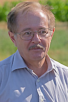 Gerard Barbeau, director of the Agricultural Research Institute (INRA, Institut Nationale de Recherche Agricole) in Angers (Beaucouze), Loire, France