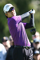 02/20/11 Pacific Palisades, CA: Kevin Na during the final round of the Northern Trust Open held at the Riviera Country Club.