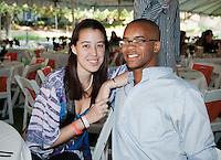 The class of 2011 enjoys Senior Dinner on Sunday, May 1, 2011 on the academic quad at Occidental College in Los Angeles, Calif.(Photo by Marc Campos, Occidental College Photographer)