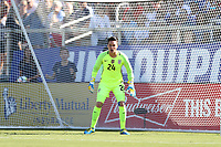 Cary, NC - Sunday October 22, 2017: Ashlyn Harris during an International friendly match between the Women's National teams of the United States (USA) and South Korea (KOR) at Sahlen's Stadium at WakeMed Soccer Park. The U.S. won the game 6-0.