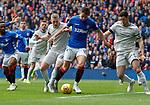 28.04.2019 Rangers v Aberdeen: Nikola Katic fouled by Lewis Ferguson for penalty