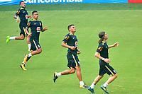 Selección Brasil entrena en el Metropolitano ,5-09-2017