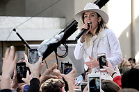 www.acepixs.com<br /> May 26, 2017 New York City<br /> <br /> Miley Cyrus performing on NBC's 'Today' at Rockefeller Plaza on May 26, 2017 in New York City. <br /> <br /> Credit: Kristin Callahan/ACE Pictures<br /> <br /> Tel: (646) 769 0430<br /> e-mail: info@acepixs.com