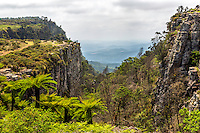 God's Window, a scenic view point on the Panorama Route in the Mpumalanga province in South Africa. Blyde River Canyon Nature Reserve