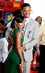 "Actor Will Smith and Actress Jada Pinkett Smith arrive to The World Premiere of Columbia Pictures' ""Hancock"" at the Grauman's Chinese Theatre on June 30, 2008 in Hollywood, California."