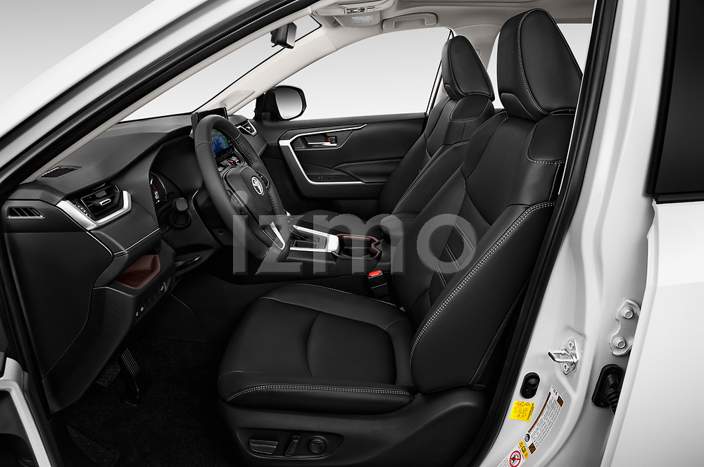 Front seat view of a 2019 Toyota RAV4 Limited 5 Door SUV front seat car photos