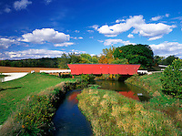Hogback Bridge in Madison County, Iowa