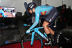 Spanish Champion Sheila Gutierrez (ESP) Movistar Team Women in action during Stage 1 of the Ceratizit Madrid Challenge by La Vuelta 2019 running 9.3km individual time trial around Boadilla del Monte, Spain. 14th September 2019.<br /> Picture: Luis Angel Gomez/Photogomezsport | Cyclefile<br /> <br /> All photos usage must carry mandatory copyright credit (© Cyclefile | Luis Angel Gomez/Photogomezsport)