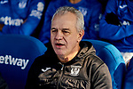 Javier Aguirre coach of CD Leganes during La Liga match between CD Leganes and Real Betis Balompie at Butarque Stadium in Leganes, Spain. February 16, 2020. (ALTERPHOTOS/A. Perez Meca)