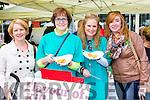 Martina O'Brien, Sheila Cronin, Ann Enright, Aedin Rogers enjoying the Flavour of Killorglin festival on Saturday