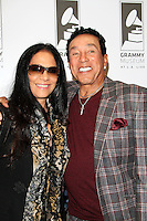 LOS ANGELES - JAN 28: Sheila E, Smokey Robinson at the 30th Anniversary of 'We Are The World' at The GRAMMY Museum on January 28, 2015 in Los Angeles, California