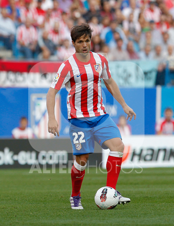 Madrid (02/10/2011)..LIGA BBVA.JORNADA 7.ESTADIO VICENTE CALDERON.ATLETICO DE MADRID-SEVILLA.DIEGO...Photo: Alex Cid-Fuentes