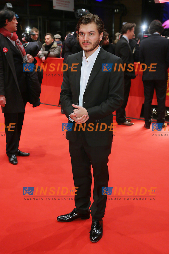 Emile Hirsch. Berlin 13/02/2013. 63th Berlinale 'Prince Avalanche' premiere. foto Mark Cape/Insidefoto