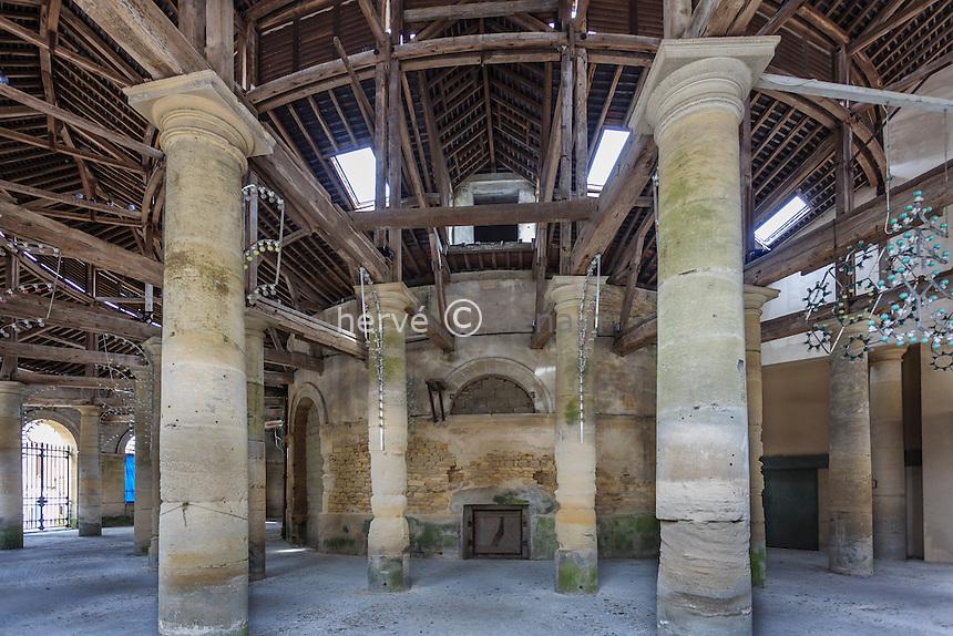 France, Orne (61), Sées, Halle aux Grains // France, Orne, Sees, Halle aux Grains (grain market)