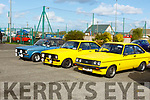 Ford Escorts on display at the Kerry Motors Works Tralee Fair in Banna on Sunday morning.<br />  .