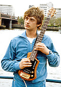 May 25, 1983: MIKE OLDFIELD - R.S. Hispaniola on the River Thames London
