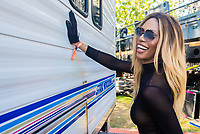 Laverne Cox on Day Three of LA Pride in West Hollywood, California on June 9, 2019. <br /> CAP/MPI/IS/CT<br /> ©CT/IS/MPI/Capital Pictures