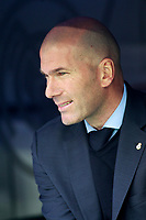 Real Madrid's coach Zinedine Zidane during La Liga match. April 8,2018. (ALTERPHOTOS/Acero) /NortePhoto NORTEPHOTOMEXICO