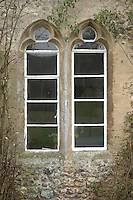 Pic by Si Barber  - 07739 472 922<br /> Creake Abbey in North Norfolk. Image shows - period window exterior.