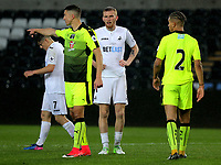 Pictured: Oliver McBurnie of Swansea City (C) Monday 15 May 2017<br />