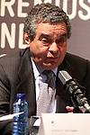 Augusto Delkader. Premios Ondas 2012. Lectura fallo del Jurado.