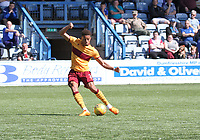 Jake Carroll in the SPFL Betfred League Cup group match between Queen of the South and Motherwell at Palmerston Park, Dumfries on 13.7.19.