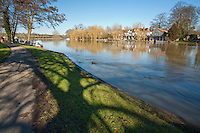 River Thames at Cookham in Berkshire, Uk