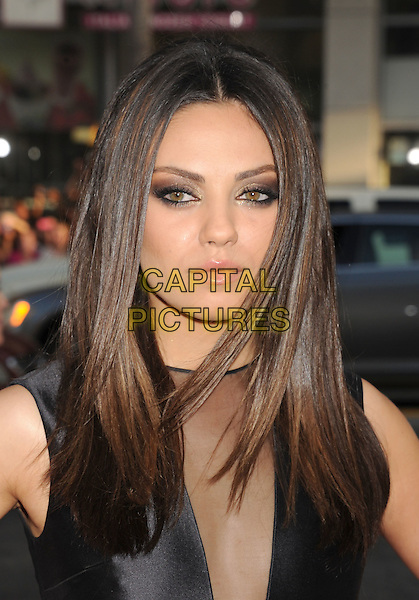 "Mila Kunis.arriving at the World Premiere of ""Ted"" at Grauman's Chinese Theatre in Hollywood, California, USA, .June 21st, 2012. .portrait headshot make-up eyeshadow eyeliner beauty smokey smoky eyes black sheer mesh v-neck .CAP/ROT/TM.©TM/Roth Stock/Capital Pictures"