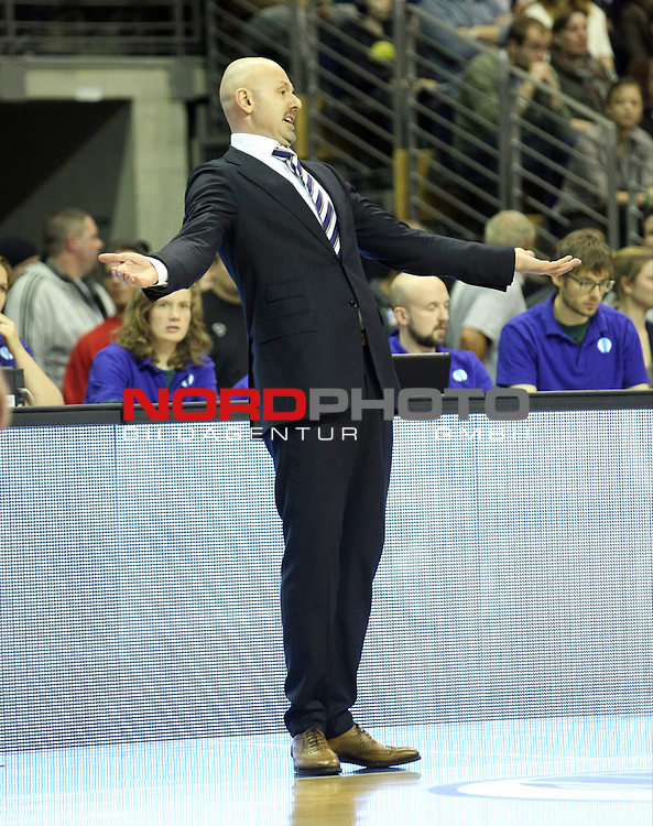 05.12.2013, O2 world, Berlin, GER, Euroleague, ALBA Berlin vs Rom, im Bild Cheftrainer (Head Coach) Sasa Obradovic (ALBA Berlin)<br /> <br />               <br /> Foto &copy; nph /  Schulz