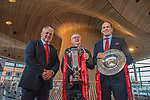 180319 Wales Grand Slam rugby celebration Cardiff Bay