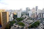 Praça da Bandeira e Vale do Anhangabau. Sao Paulo. 2015. Foto de Juca Martins.