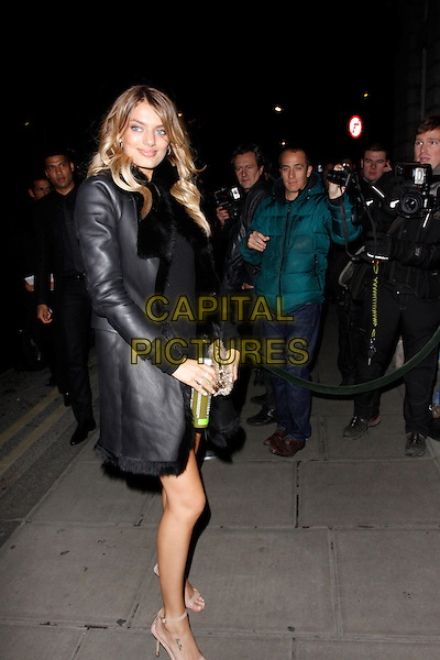 LONDON, ENGLAND - DECEMBER 02 :   Bregje Heinen arrives at the Victoria's Secret Fashion Show - afterparty at The London EDITION hotel on December 02, 2014 in London, England.<br /> CAP/AH<br /> &copy;Adam Houghton/Capital Pictures