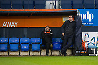Blackpool manager Gary Bowyer before kick off<br /> <br /> Photographer Craig Mercer/CameraSport<br /> <br /> The EFL Sky Bet League Two Play-Off Semi Final Second Leg - Luton Town v Blackpool - Thursday 18th May 2017 - Kenilworth Road - Luton<br /> <br /> World Copyright &copy; 2017 CameraSport. All rights reserved. 43 Linden Ave. Countesthorpe. Leicester. England. LE8 5PG - Tel: +44 (0) 116 277 4147 - admin@camerasport.com - www.camerasport.com